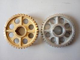 Червячное колесо в редуктор лебедки китайской люльки ZLP 630