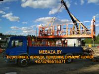 Аренда Люльки строительной фасадной ZLP-630, ZLP 500