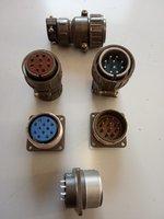 Вилка кабельная управления лебедкой 10 пин