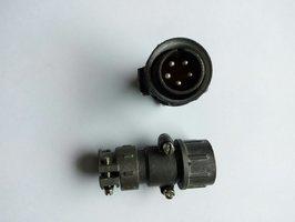 Вилка кабельная внешнего пульта управления 5 пин