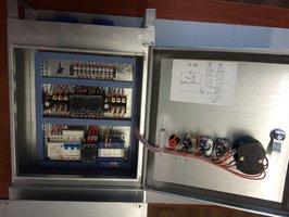 Электрический щит управления подъемника ZLP630 Shenxi